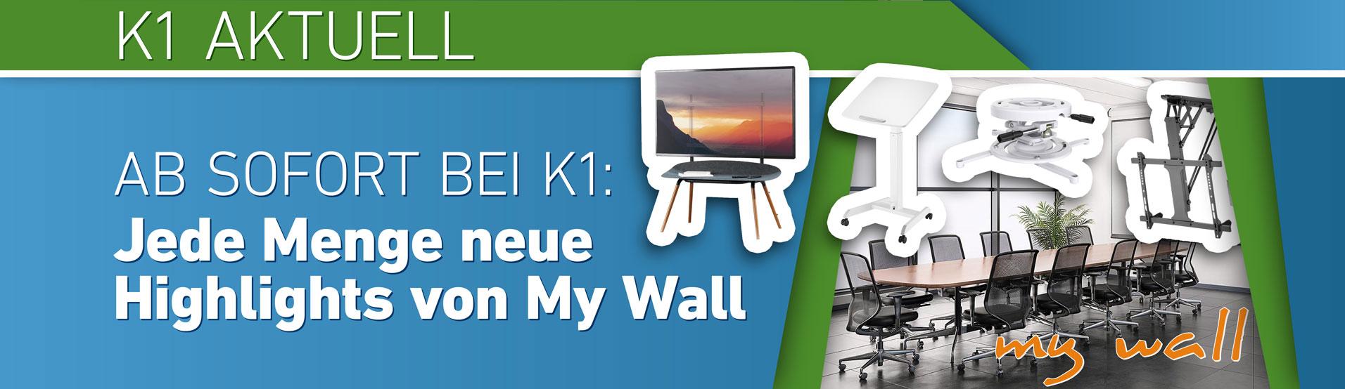 K1 Aktuell – Jede Menge neue Highlights von My Wall