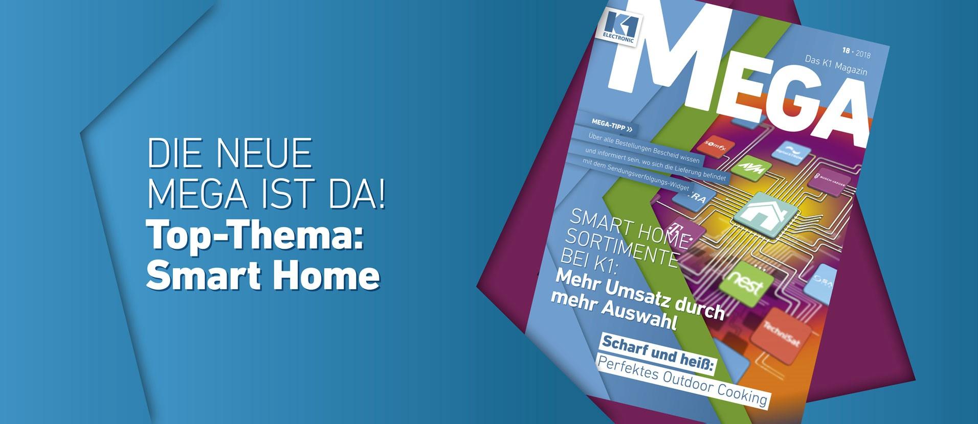 MEGA 18 - Das K1 Magazin