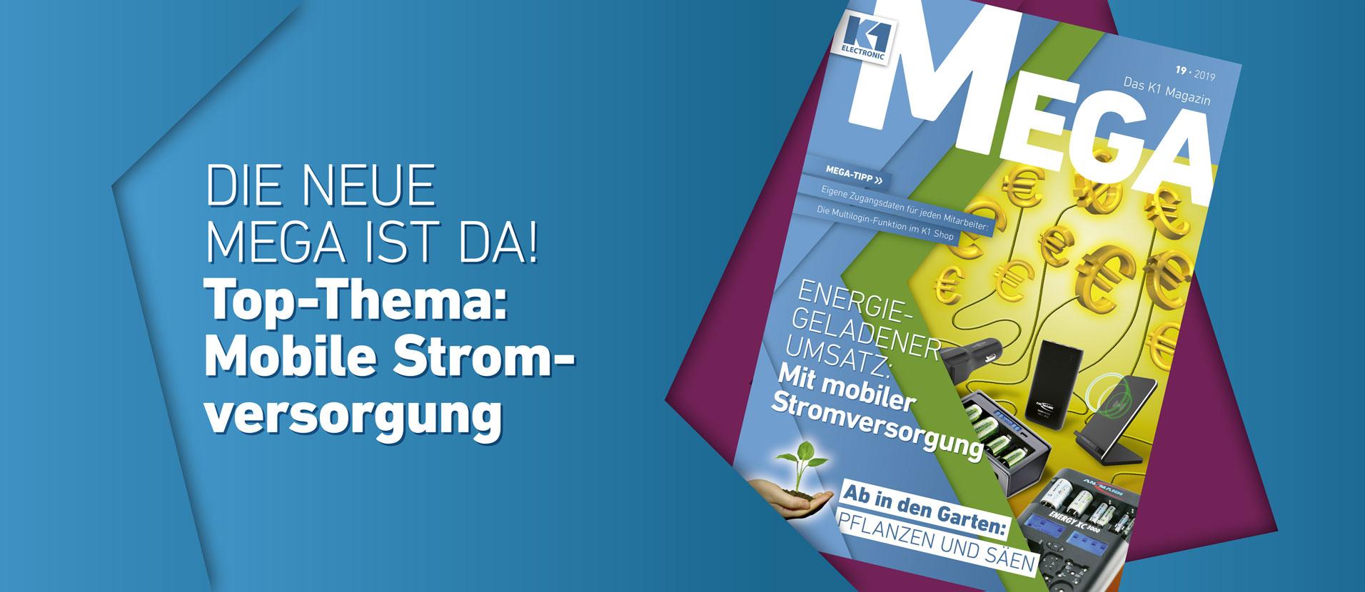 MEGA 19 - Mobile Stromversorgung
