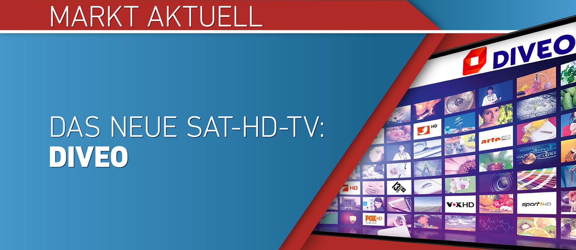 Das neue Sat-HD-TV: DIVEO
